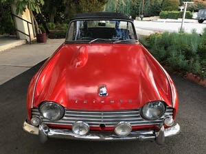 1963 Triumph TR4 LHD good condition For Sale (picture 1 of 8)