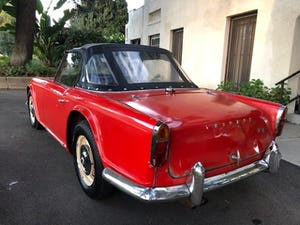 1963 Triumph TR4 LHD good condition For Sale (picture 2 of 8)