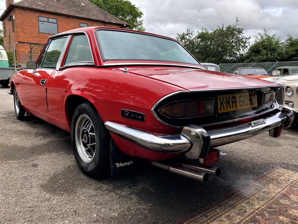 1973 1974 Triumph Stag - Good Condition For Sale (picture 2 of 6)