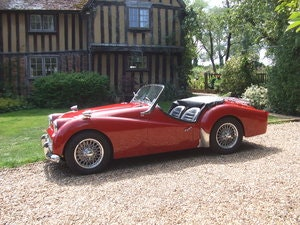 Picture of 1960 TR3A original UK RHD O/D CHROME WIRES loads of history For Sale