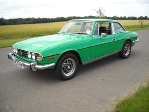 Picture of 1976 TRIUMPH STAG MK2 AUTO IN STUNNING JAVA GREEN 38000 MILES For Sale