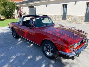 1974 Triumph stag v8 3.0 hard top manual For Sale (picture 5 of 12)