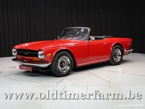 1970 Triumph TR6 Red '70 For Sale (picture 1 of 12)
