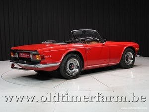 1970 Triumph TR6 Red '70 For Sale (picture 2 of 12)