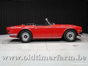 1970 Triumph TR6 Red '70 For Sale (picture 3 of 12)