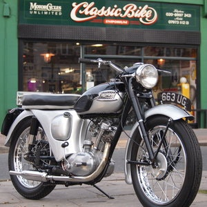 Picture of 1960 Triumph T20 Tiger Cub Matching Numbers, Top Condition. For Sale
