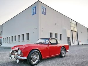 Picture of 1965 TRIUMPH TR4 , WONDERFUL TOTALLY RESTORED EURO 35.800 For Sale