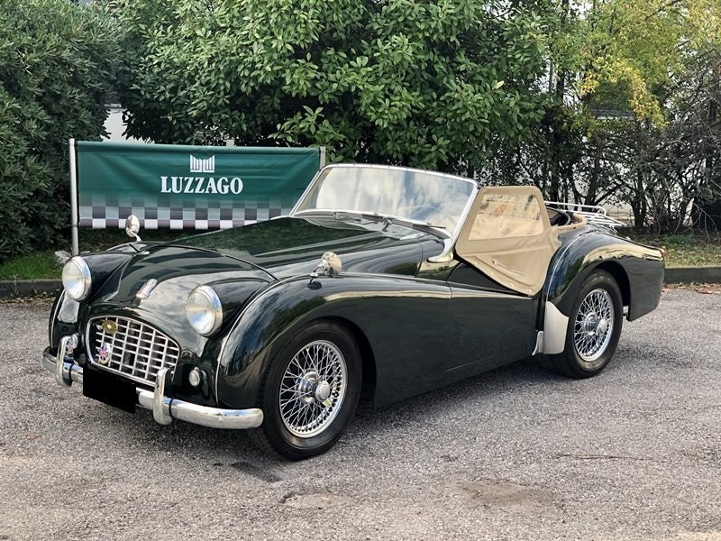 """1955 Triumph TR3 """"small mouth"""" For Sale (picture 1 of 6)"""
