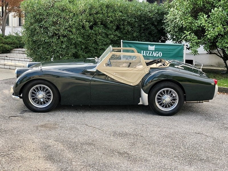 """1955 Triumph TR3 """"small mouth"""" For Sale (picture 2 of 6)"""