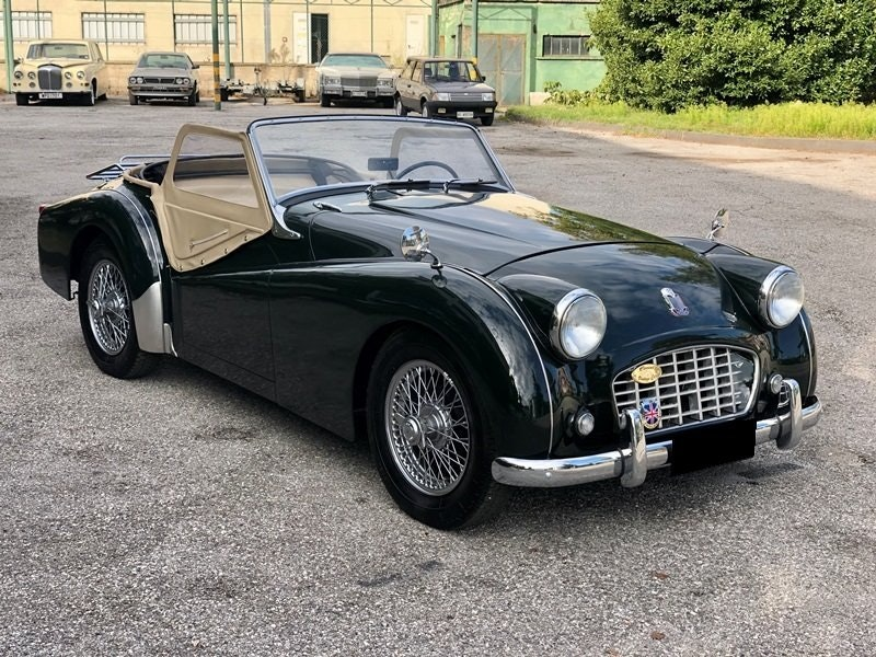 """1955 Triumph TR3 """"small mouth"""" For Sale (picture 4 of 6)"""