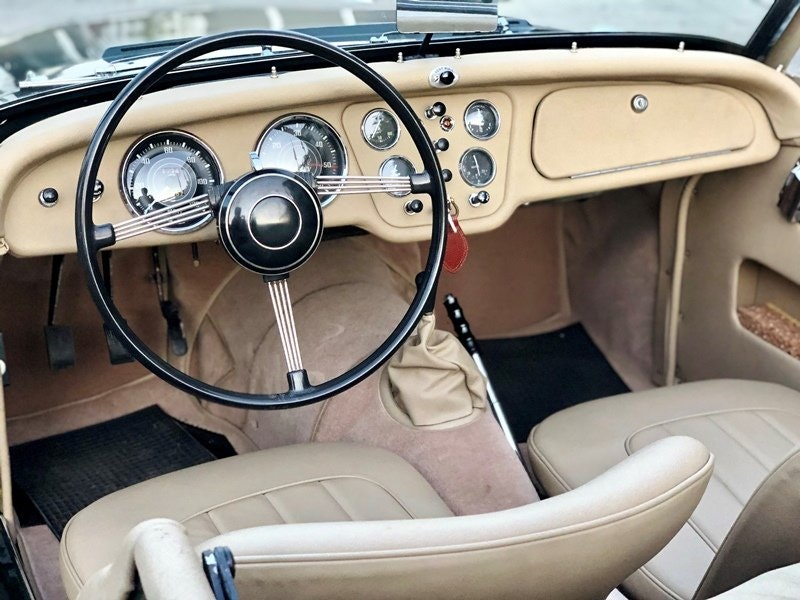 """1955 Triumph TR3 """"small mouth"""" For Sale (picture 5 of 6)"""