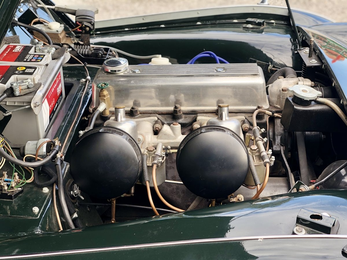 """1955 Triumph TR3 """"small mouth"""" For Sale (picture 6 of 6)"""