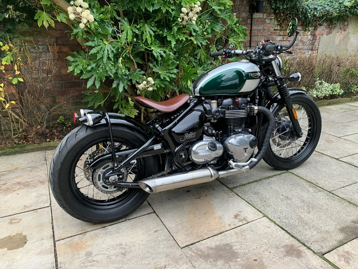 2017 Triumph Bobber 1200, £££ Of Extras, Stunning SOLD (picture 3 of 6)