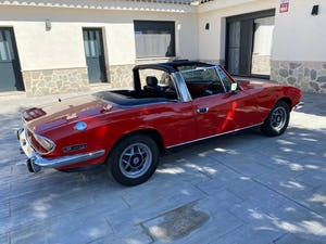 1974 Triumph stag v8 3.0 hard top manual For Sale (picture 10 of 12)