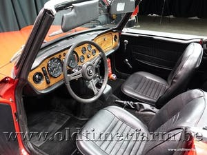1970 Triumph TR6 Red '70 For Sale (picture 4 of 12)