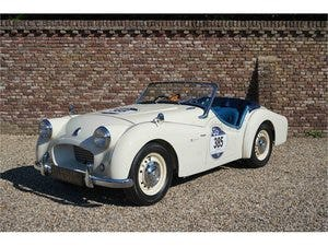 1954 Triumph TR2 Very well maintained, recent Mille Miglia compet For Sale (picture 1 of 6)