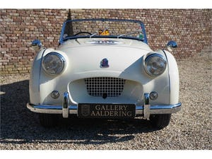 1954 Triumph TR2 Very well maintained, recent Mille Miglia compet For Sale (picture 5 of 6)