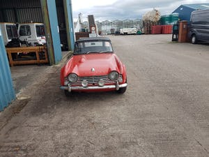 1963 Triumph TR4 LHD good condition For Sale (picture 6 of 8)