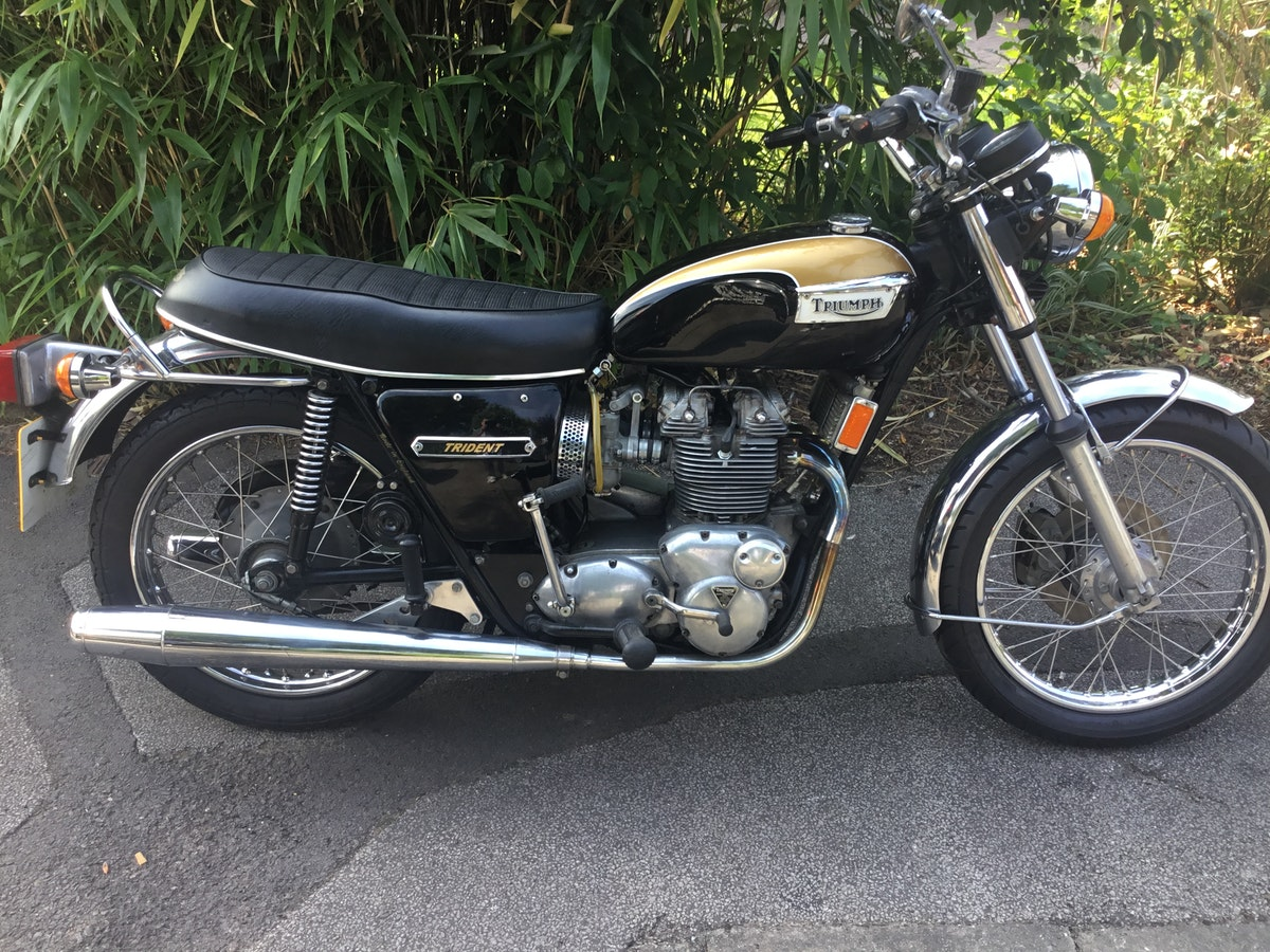 1973 Triumph Trident T150V SOLD (picture 1 of 8)