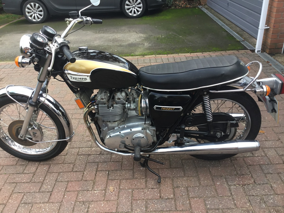 1973 Triumph Trident T150V SOLD (picture 8 of 8)