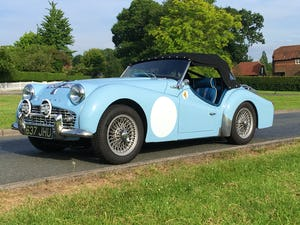 1960 Triumph TR3a rally car - fast, great fun, proven winner. For Sale (picture 1 of 12)