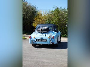 1960 Triumph TR3a rally car - fast, great fun, proven winner. For Sale (picture 4 of 12)