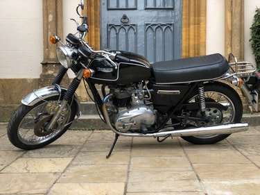 Picture of A 1975 Triumph T140 V - 30/06/2021 For Sale by Auction
