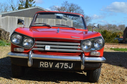 Picture of 1971 Triumph Vitesse MK2 Factory Convertible For Sale