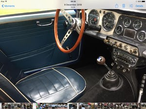 1962 Triumph TR4 in Powder blue LHD. For Sale (picture 4 of 11)