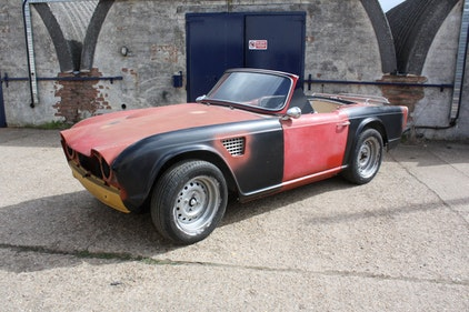 Picture of 1964 TR4 UNFINISHED PROJECT. UK REGISTERED CAR. For Sale