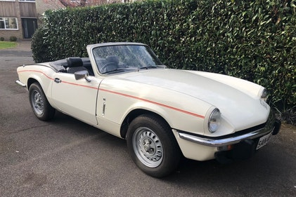 Picture of 1977 Triumph Spitfire For Sale by Auction