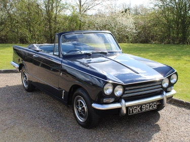 Picture of 1969 Triumph Vitesse 2.0 Convertible at ACA 1st and 2nd May For Sale by Auction