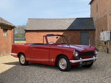 Picture of 1970 Triumph Herald 13/60. Father & Son Owned From New For Sale