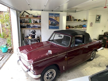 Picture of 1967 Triumph vitesse 2.0  mk1 convertible with overdrive For Sale