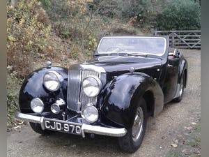 1949 Triumph 2000 Roadster - 4 speed gearbox For Sale (picture 2 of 14)
