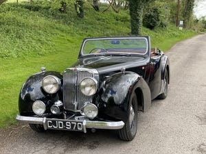 1949 Triumph 2000 Roadster - 4 speed gearbox For Sale (picture 10 of 14)