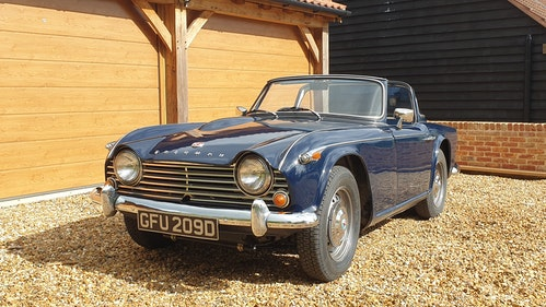 Picture of 1966 Triumph TR4A For Sale by Auction