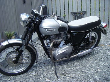 Picture of 1969 Triumph trophy tr6  650 matching numbers For Sale