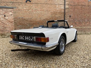 1970 Triumph TR6 2.5 Manual / Overdrive. Free U.K Delivery For Sale (picture 4 of 12)