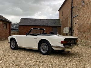 1970 Triumph TR6 2.5 Manual / Overdrive. Free U.K Delivery For Sale (picture 5 of 12)