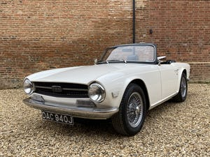 1970 Triumph TR6 2.5 Manual / Overdrive. Free U.K Delivery For Sale (picture 7 of 12)
