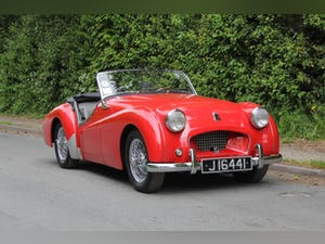 1955 Triumph TR2 - Matching No's / Colours - Various Upgrades For Sale (picture 1 of 20)