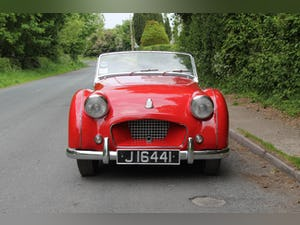 1955 Triumph TR2 - Matching No's / Colours - Various Upgrades For Sale (picture 2 of 20)