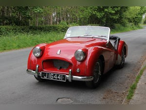 1955 Triumph TR2 - Matching No's / Colours - Various Upgrades For Sale (picture 3 of 20)