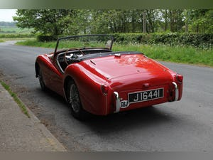 1955 Triumph TR2 - Matching No's / Colours - Various Upgrades For Sale (picture 4 of 20)