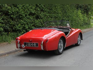 1955 Triumph TR2 - Matching No's / Colours - Various Upgrades For Sale (picture 6 of 20)