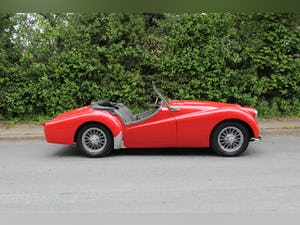 1955 Triumph TR2 - Matching No's / Colours - Various Upgrades For Sale (picture 7 of 20)