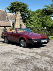 Picture of 1980 Triumph TR7 convertible DHC - bordeaux red with tan interior For Sale