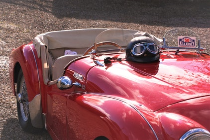Picture of 1954 LIGHTWEIGHT FAST ROAD Triumph TR2 For Sale