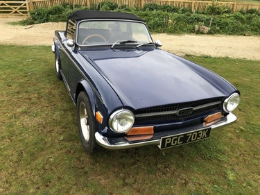 Picture of 1972 Triumph TR6 guided 12 - 15K only For Sale by Auction